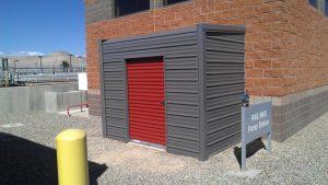 Enclosed Metal Building