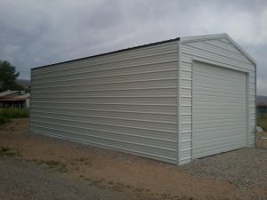 Enclosed Metal Building